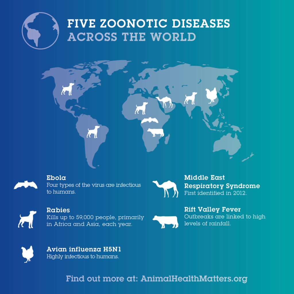 Five Zoonotic Diseases Across the World
