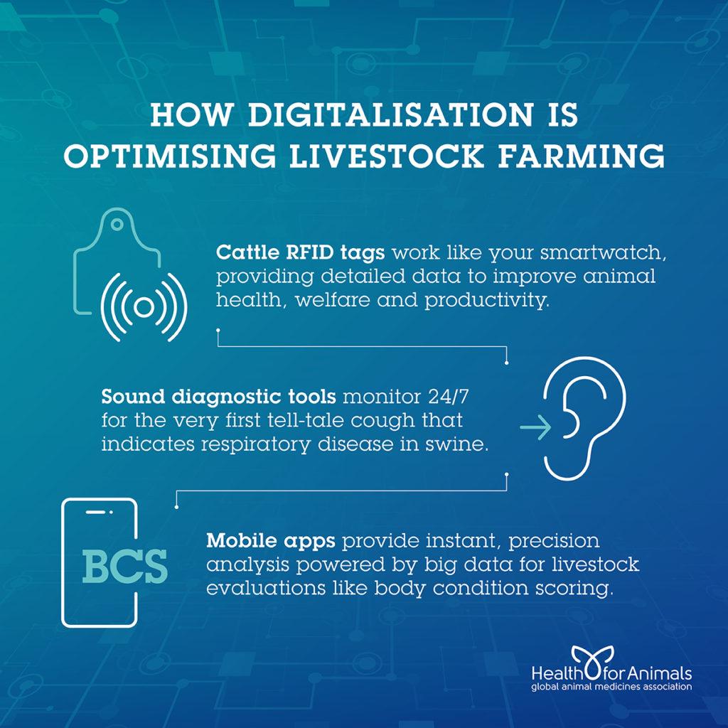 How Digitalisation is Optimising Livestock Farming